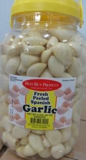 Peeled garlic The Spanish expertise